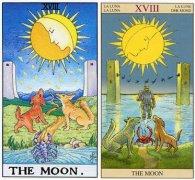 塔罗牌月亮命运,月亮牌逆位爱情含义解析