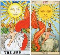 塔罗牌太阳命运,太阳牌逆位爱情含义解析