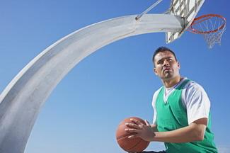 梦见打篮球