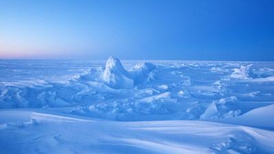 梦见冰天雪地