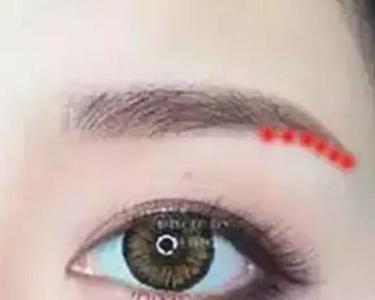 女人眉尾下垂的面相好吗,从眉毛形状看个人性格