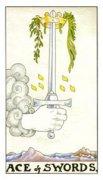 塔罗牌宝剑一正位爱情含义解读,逆位代表什么?
